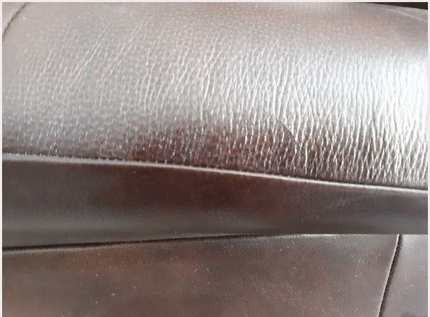 scratched leather repaired ez