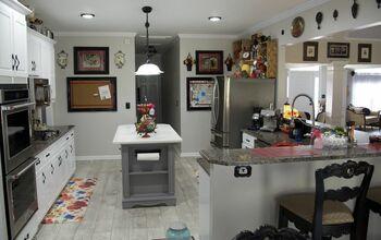 Kitchen Island Overhaul (with a Bonus Pantry Door to Match)