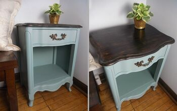 Updating a Nightstand With Milk Paint