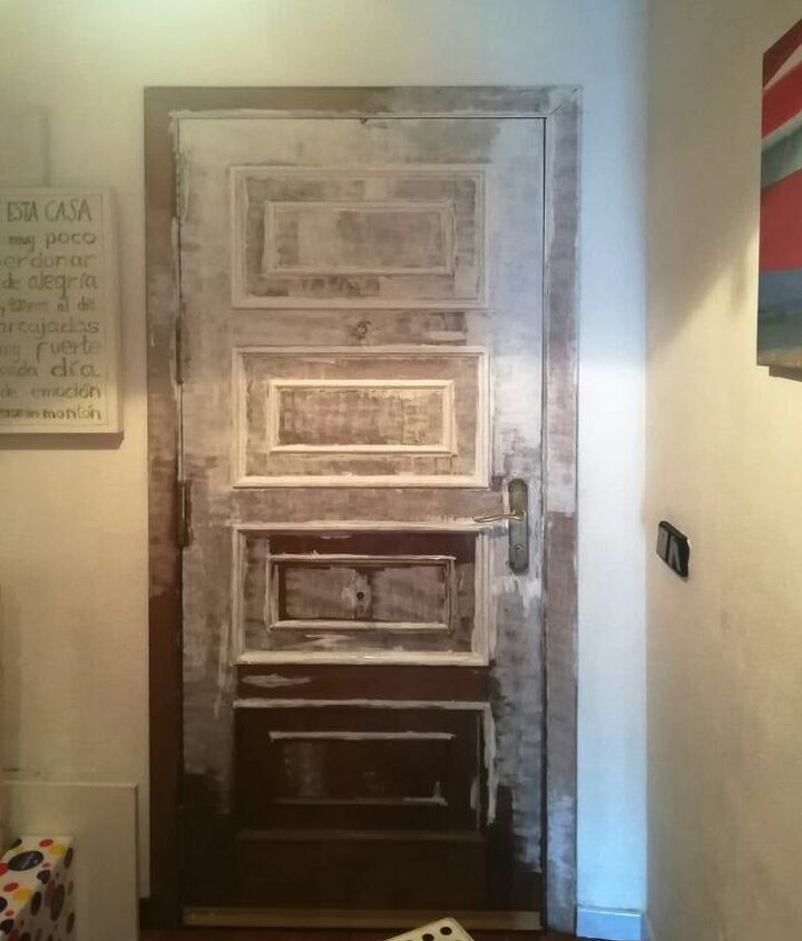 painting a door chalk paint or acrylic