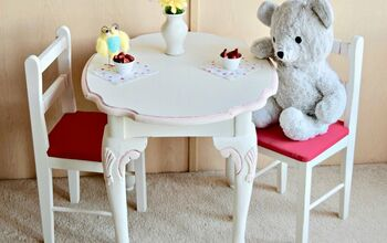 Upcycle an Outdated Side Table Into the Perfect Tea Time Spot