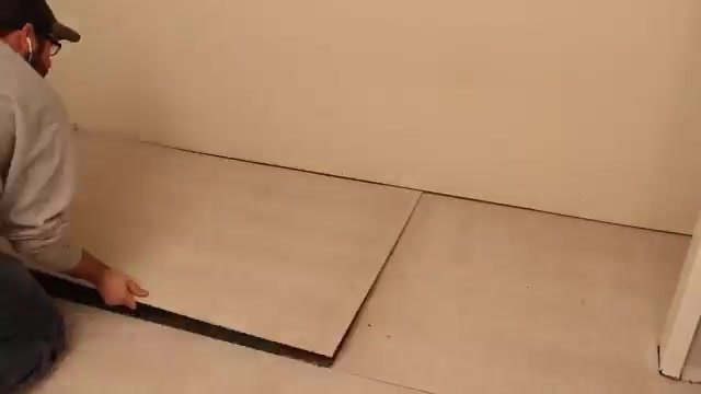 how to remodel old bathroom floor
