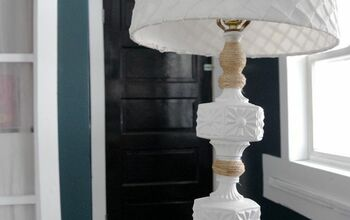 Thrift Store Lamp Gets a Country Makeover