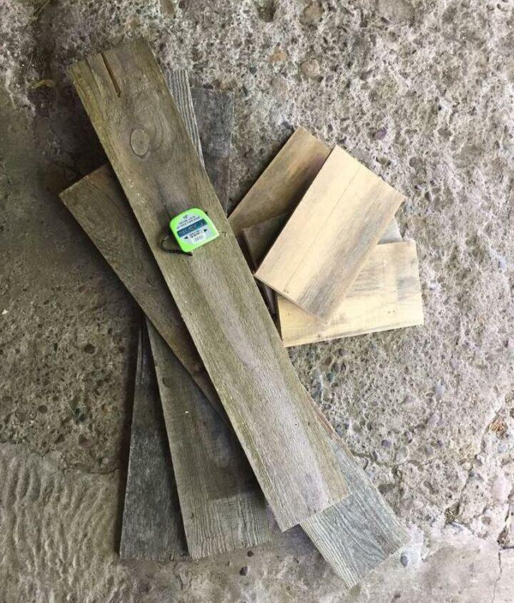 Scrap wood- Before.