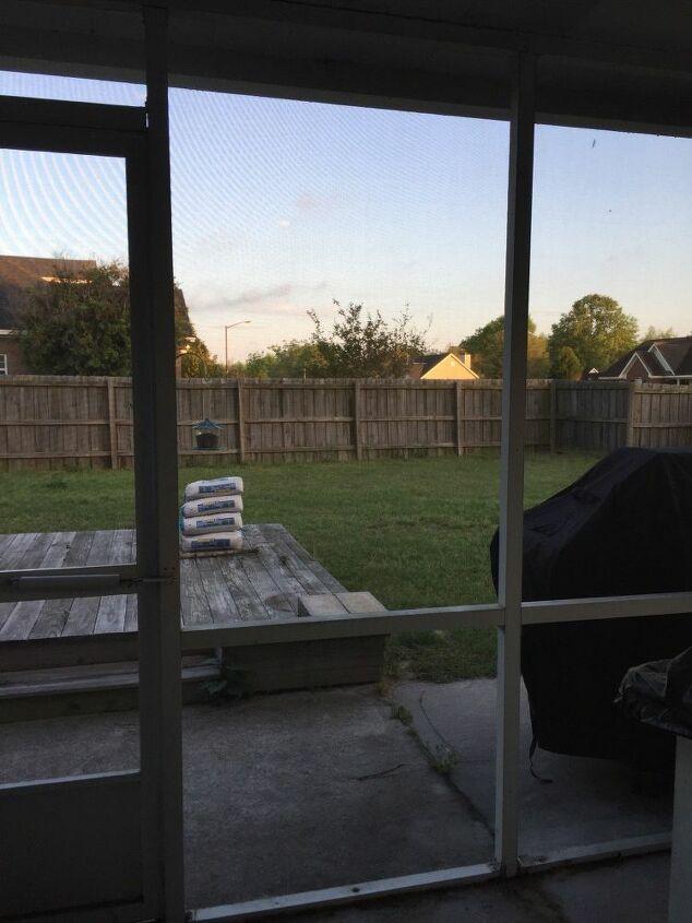 q how do i enclose a screened porch