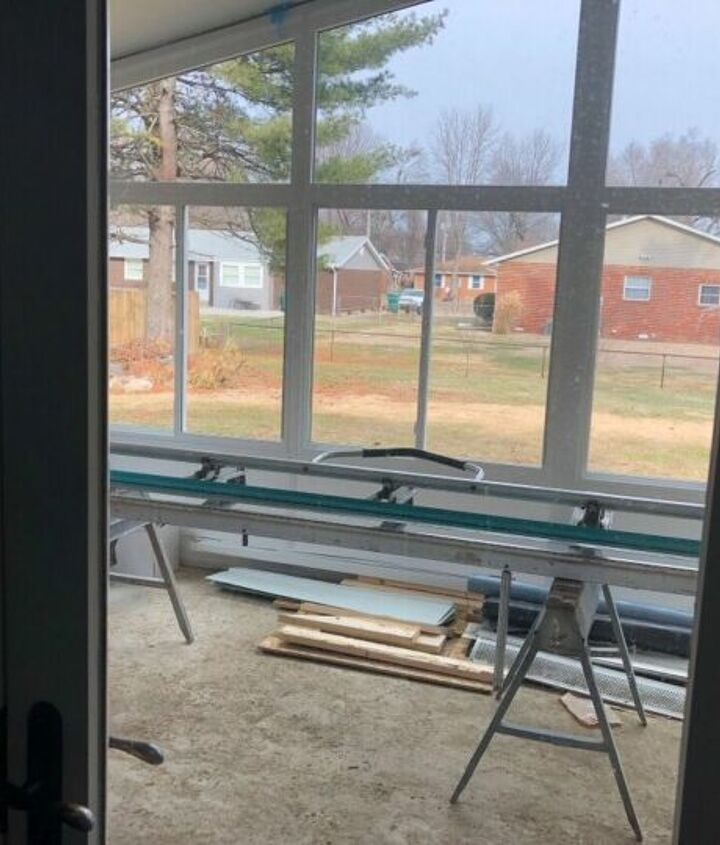 q window coverings for a sunroom