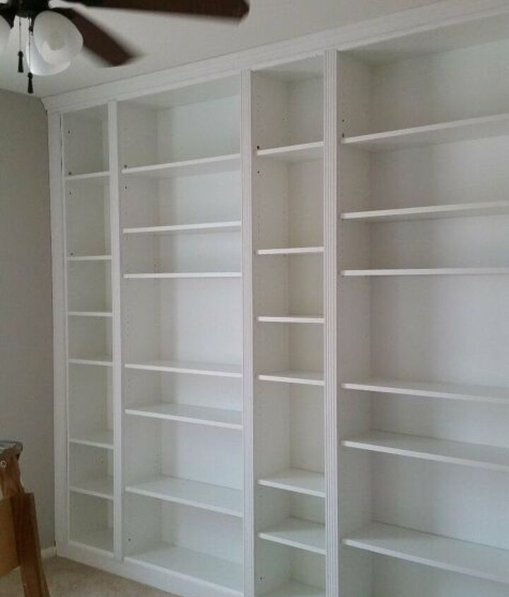 Make a Built-In Bookcase