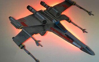Star Wars X-wing Fighter Wall Art