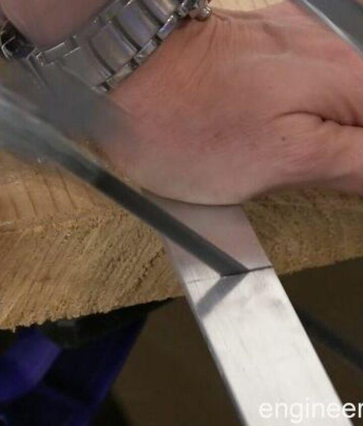 diy barndoor hardware for a shelving unit