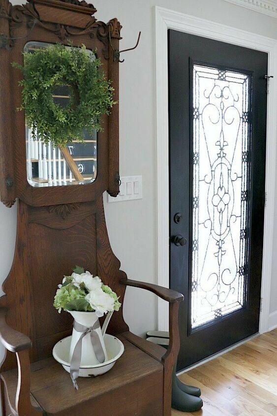 diy front door transformation