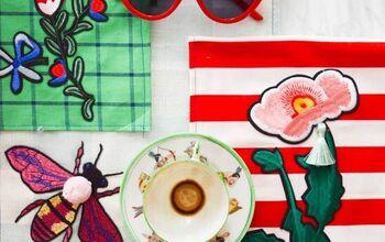 DIY Gucci Inspired Tea Towels