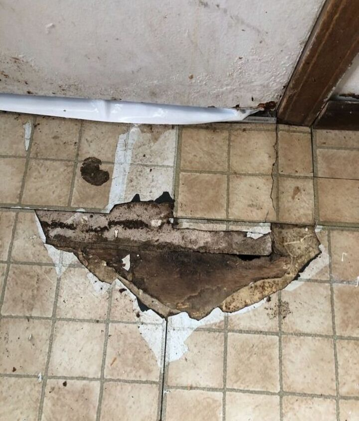 q how do i remove old tiles and install new floors