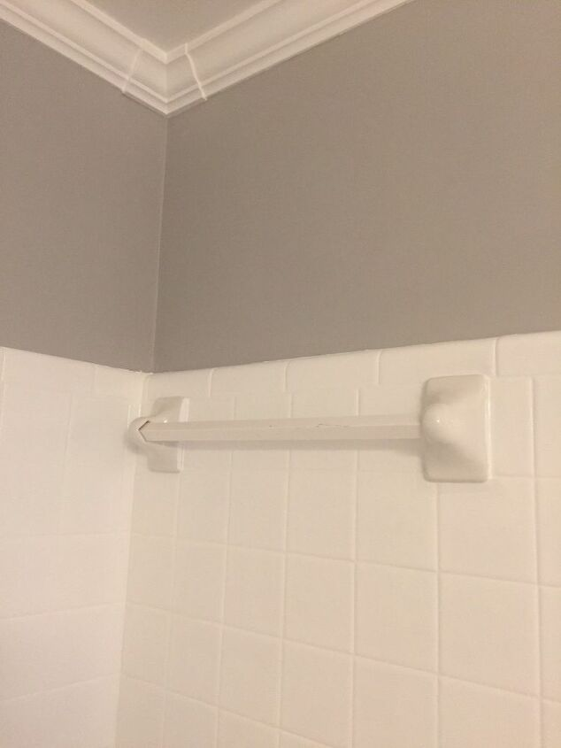Towel Bar In The Shower To A Shelf