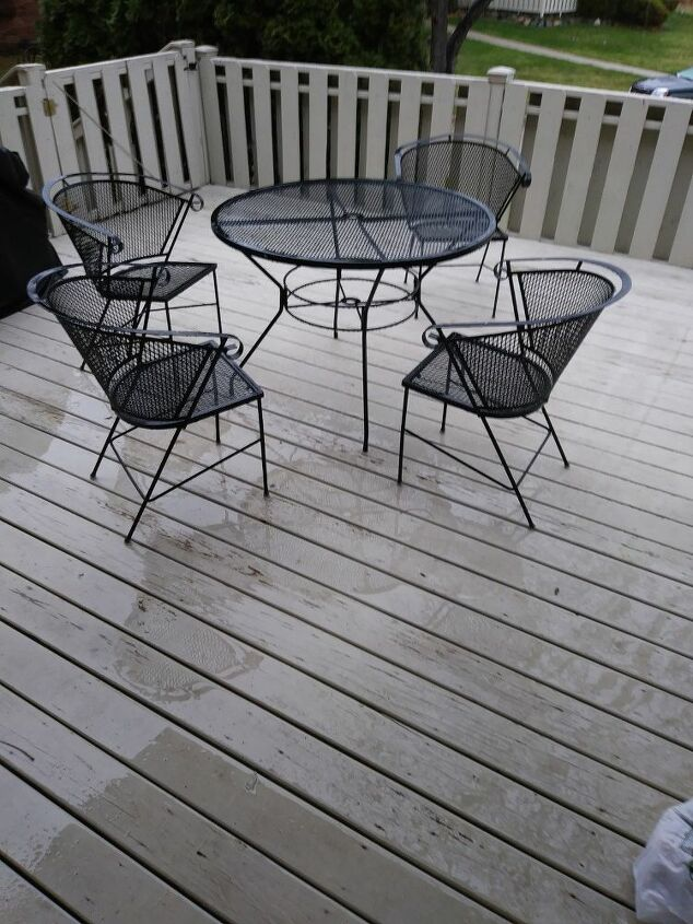 q how do i restain my deck properly so i do not have to do it every