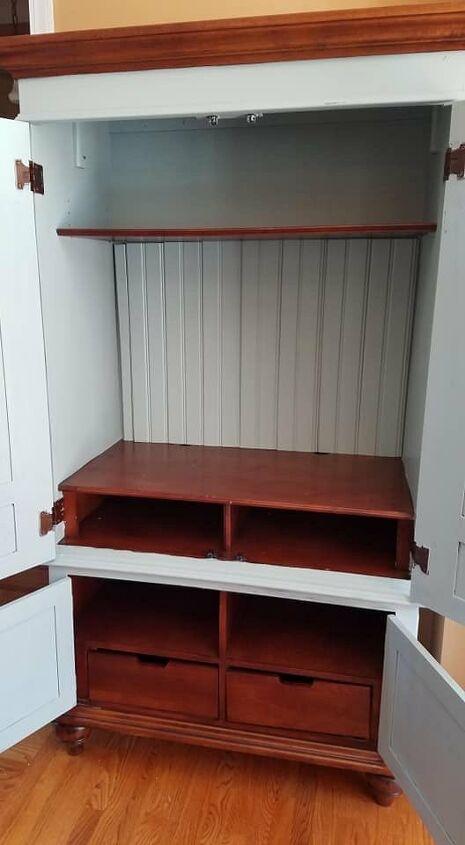 armoire renovation