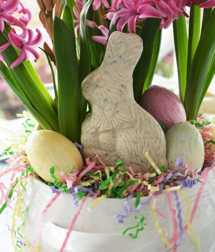 easy 5 minute centerpiece for easter