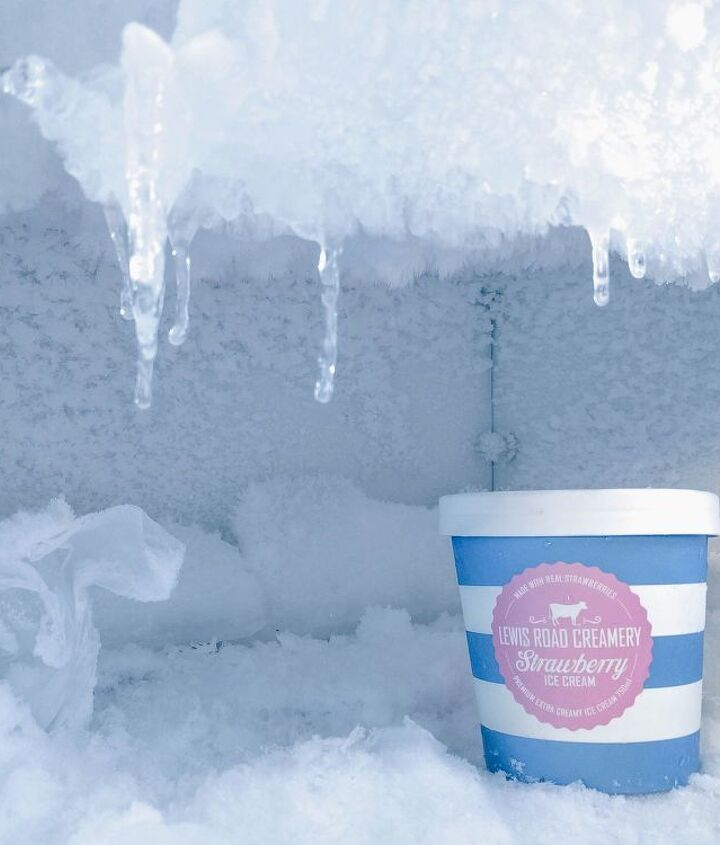 defrost your freezer in under 60 minutes and organize it too