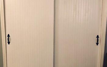 Closet Doors Makeover
