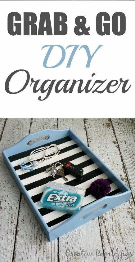grab and go diy organizer