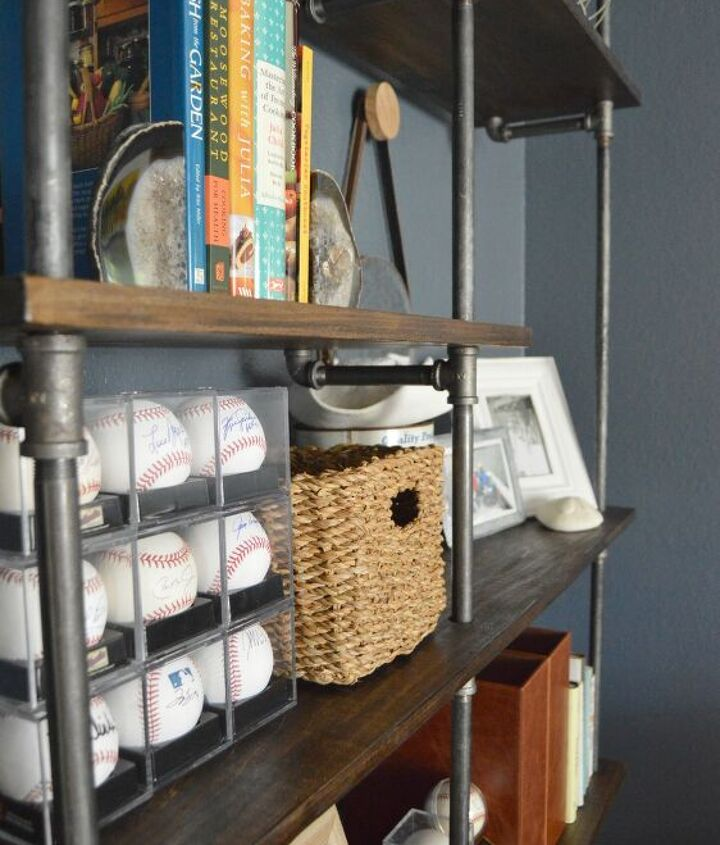 easy diy pipe shelves