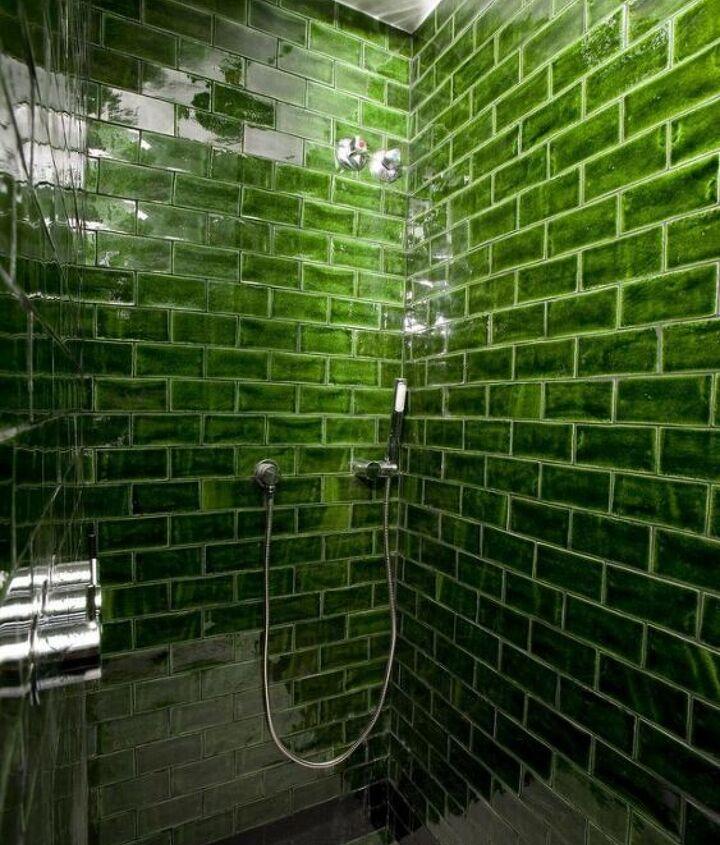 s diy subway tile, Subway Tiles to Add Color to a Bathroom