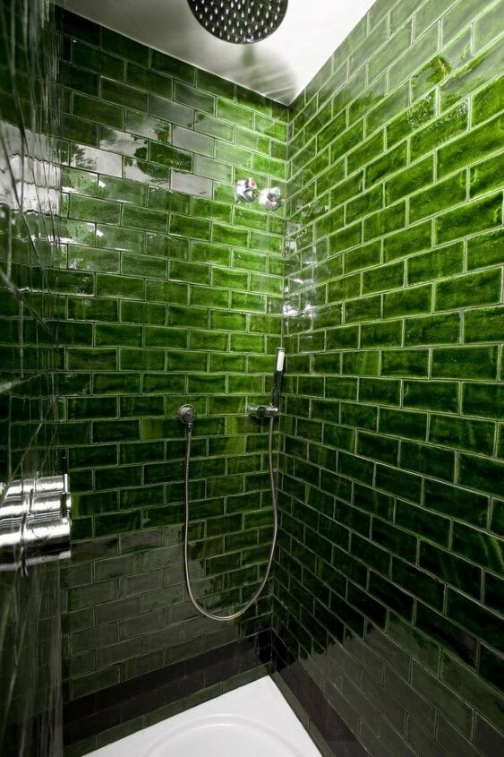 s diy subway tile, Subway Tiles to Add Color to a Bathroom