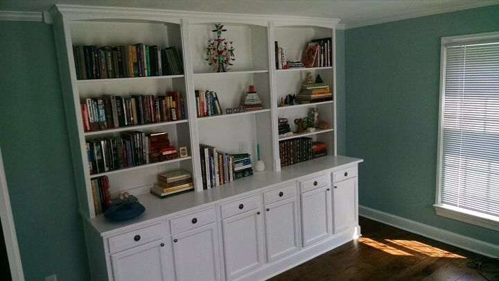 s bookcase projects, Use Kitchen Cabinets