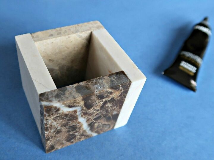 how to make cute square pots for mini cactus plants