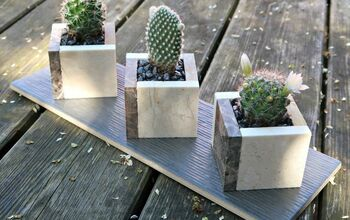 How To Make A Ceramic Tile Planter