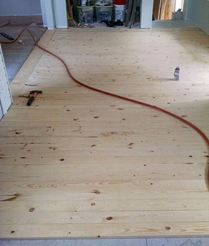 inexpensive wood floor that looks expensive four years later