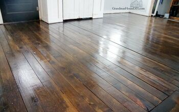 Inexpensive Wood Floor That Looks Expensive - Four Years Later!