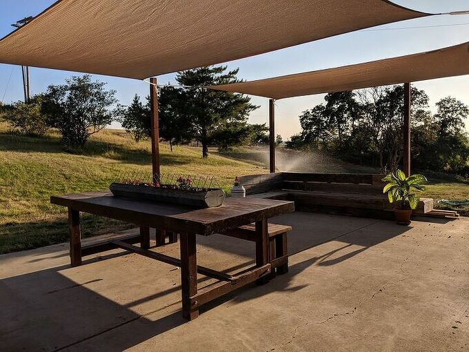 how to shade your patio with shade sails
