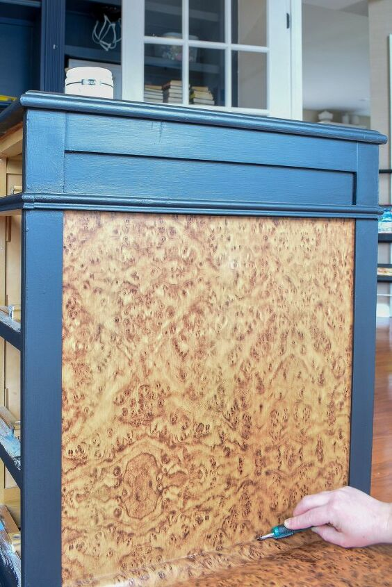burl wood furniture hack and factory finish paint job you can diy