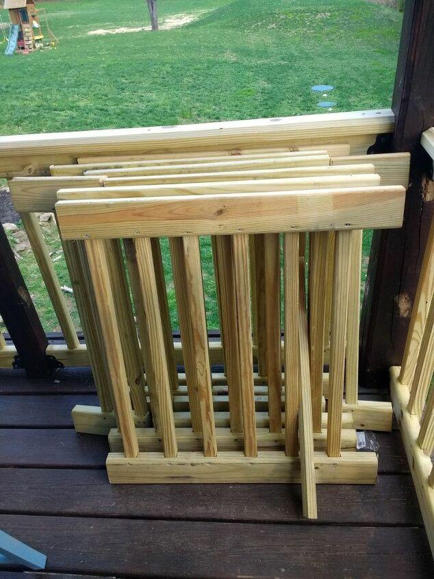 q ideas for repurposing deck railing scraps