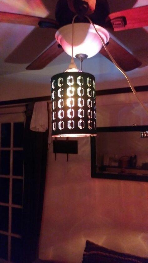 q how should i hang this lamp