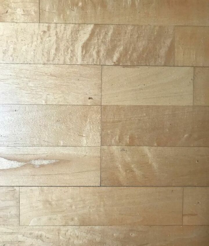 q can old engineered hardwood be improved