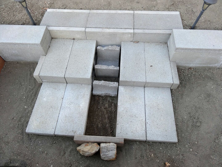 concrete wheelbarrow ramp