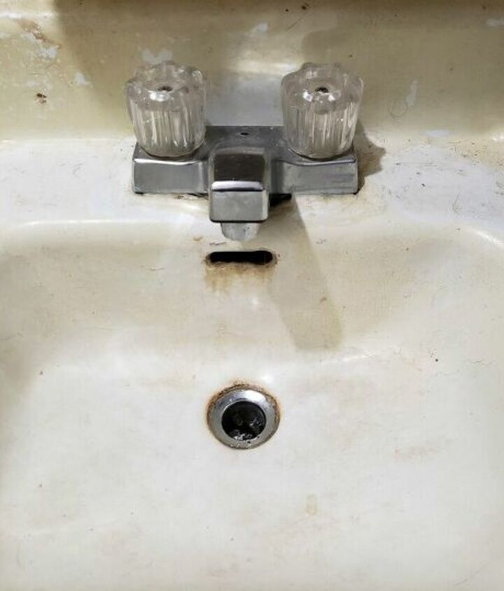 q how do i repurpose a very old bathroomsink