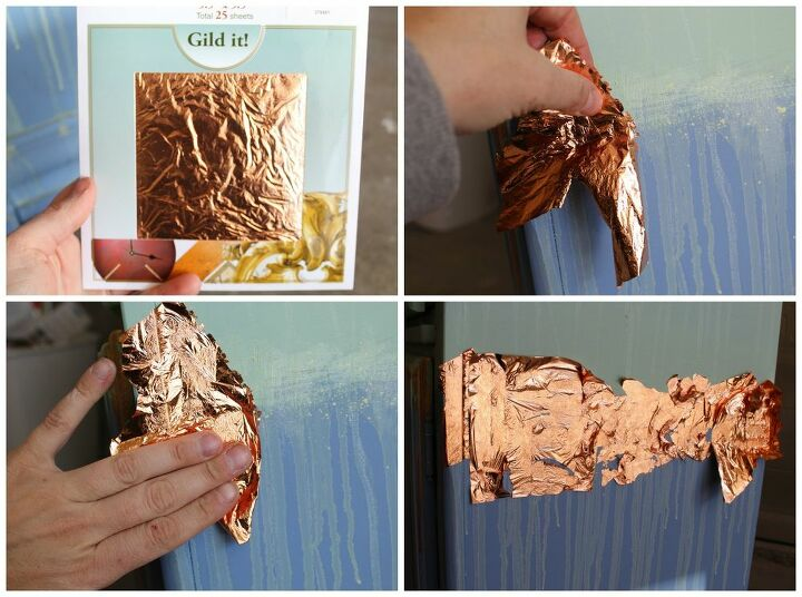 how to add gold leaf to your projects with ease