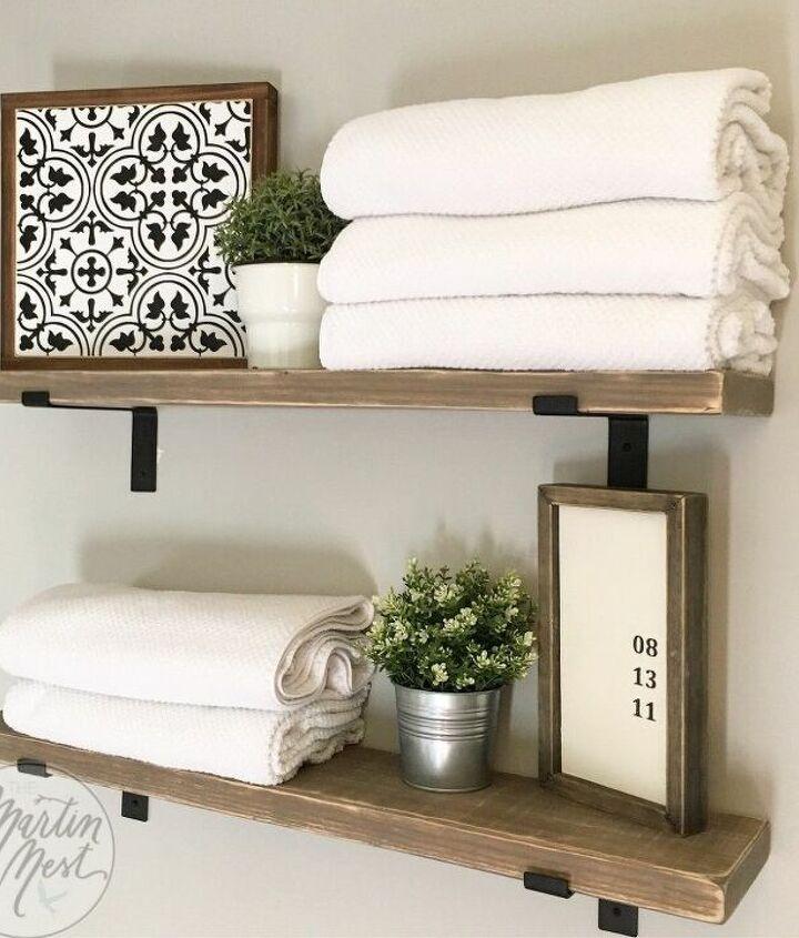 easy diy bracket shelves