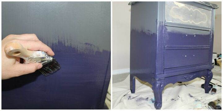 you have to see this amazing gradient color look on furniture