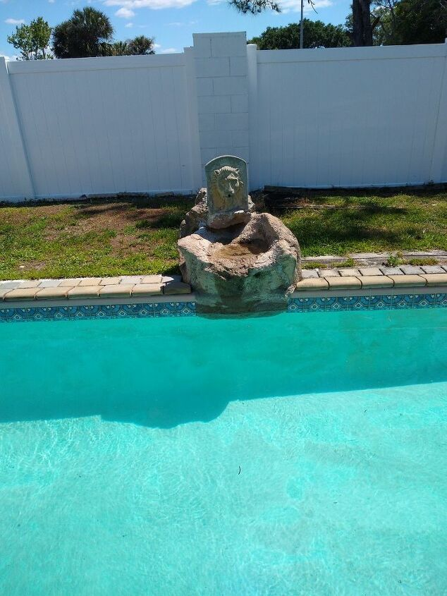 q how to fix fountain