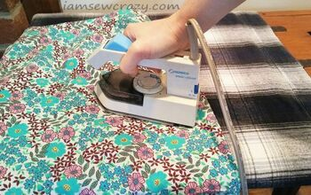 DIY Ironing Pad Made With a Mylar Emergency Blanket