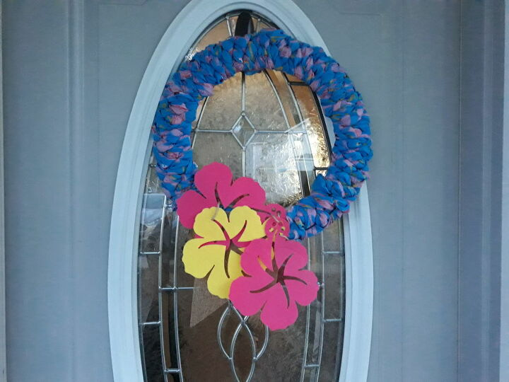 time for a spring wreath