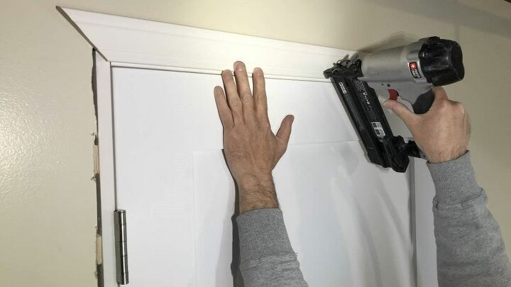 how to get picture perfect miters when installing door casing