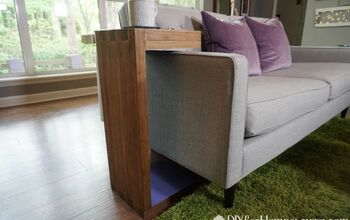 How to Make a Sofa C-Table With Built in Storage