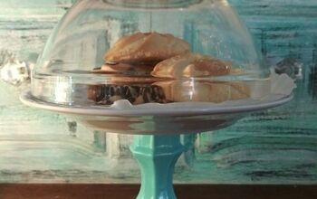 Dollar Store Cookie Stand and Dome!!!