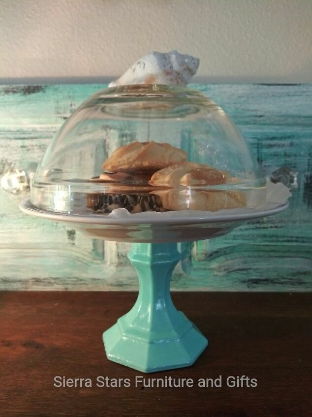 dollar store cookie stand and dome