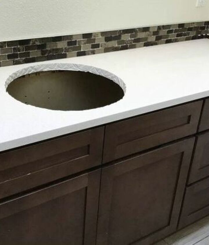 quartz taste on a formica budget diy bathroom countertop