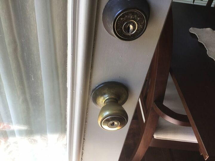 q how do you bring the shine back to brass door knobs